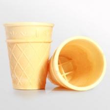 Вафельный стаканчик для мороженого своими руками